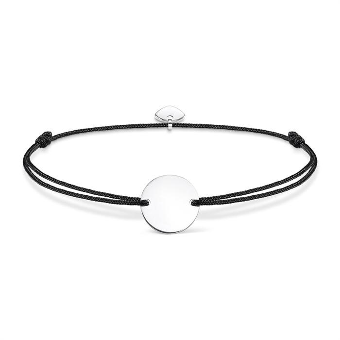 Armband Nylon Silber Gravur