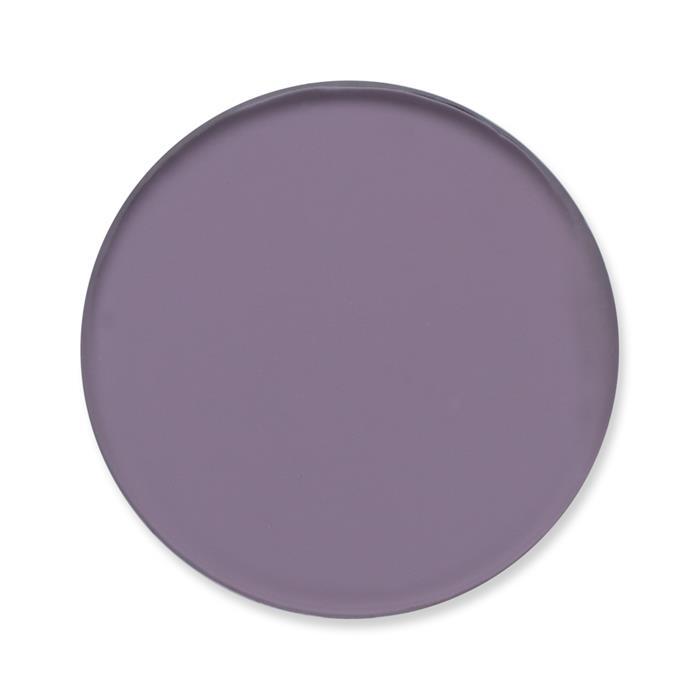 Einsatz Münzanhänger violett