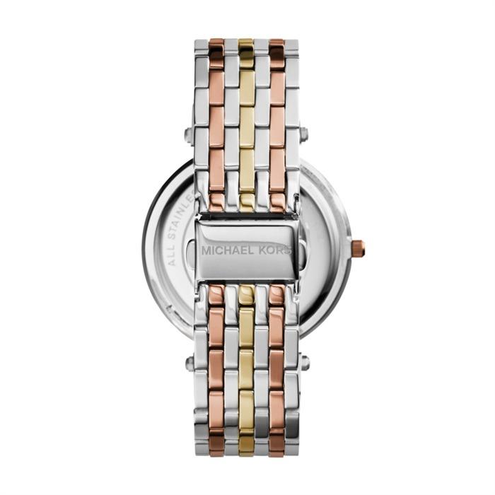 Uhr tricolorem Edelstahl