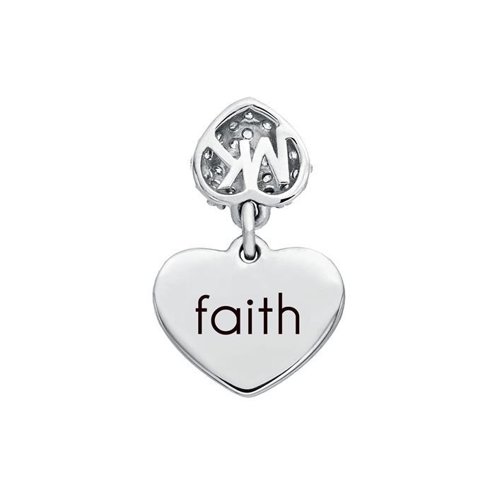 Michael Kors Herz Armband für Damen aus 925er Silber mit Zirkonia MKC1118AN040