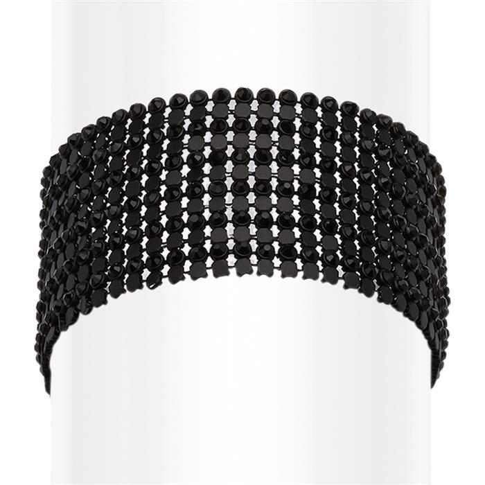 Damen Armband Modeschmuck schwarz
