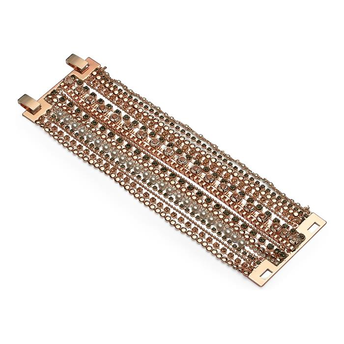 Damen Armband Modeschmuck rosegold