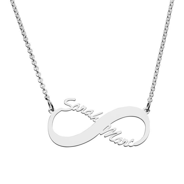 Namenskette Infinity 925er Silber