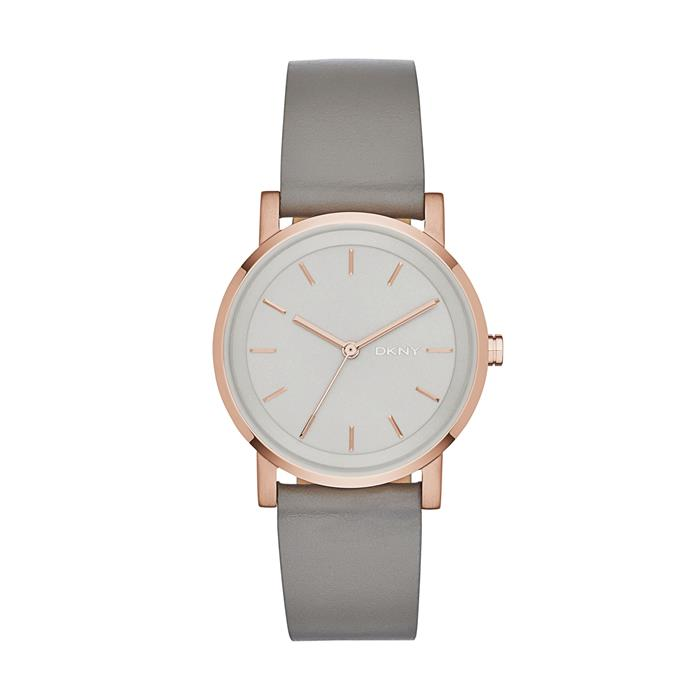 Watch Soho For Ladies With Leather Strap, Khaki