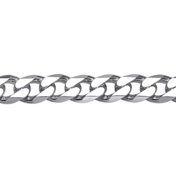 925 Silberarmband: Panzerarmband Silber 8mm