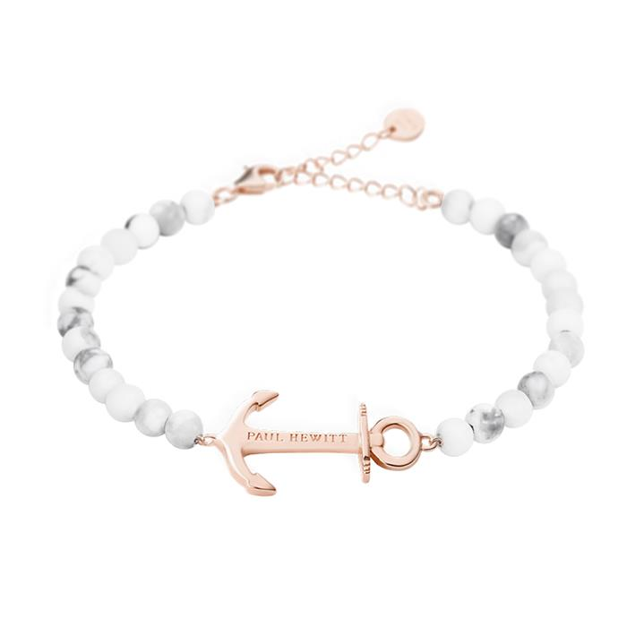 Armband Anchor Spirit Marble für Damen rosé