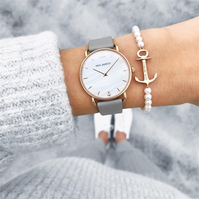Armband Anchor Spirit Pearl roségold