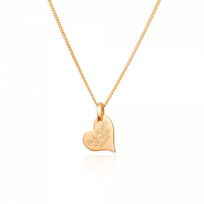 Kette North Love 925er Silber gold