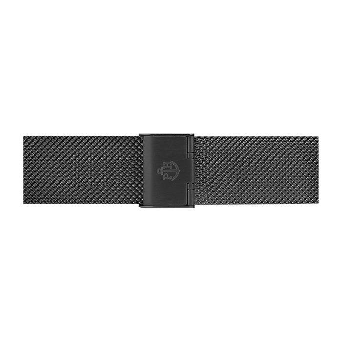Milanaise Uhrenband schwarz