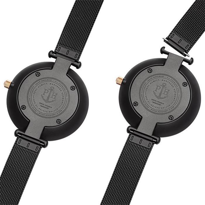 Ladies' Watch Lagoona In Stainless Steel, Black