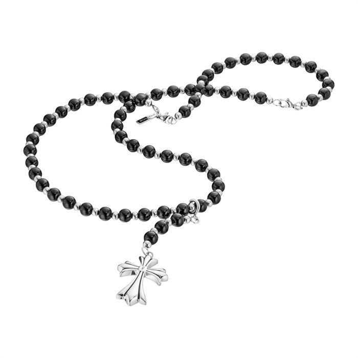 Rosenkranz Kette mit Kreuz