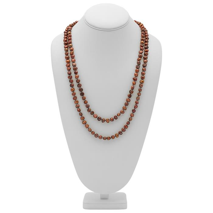 Hochwertige Halskette bestehend aus Perlen