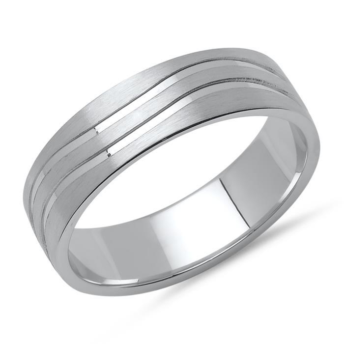 Herrenring von Vivo 925er Silber Zirkonia