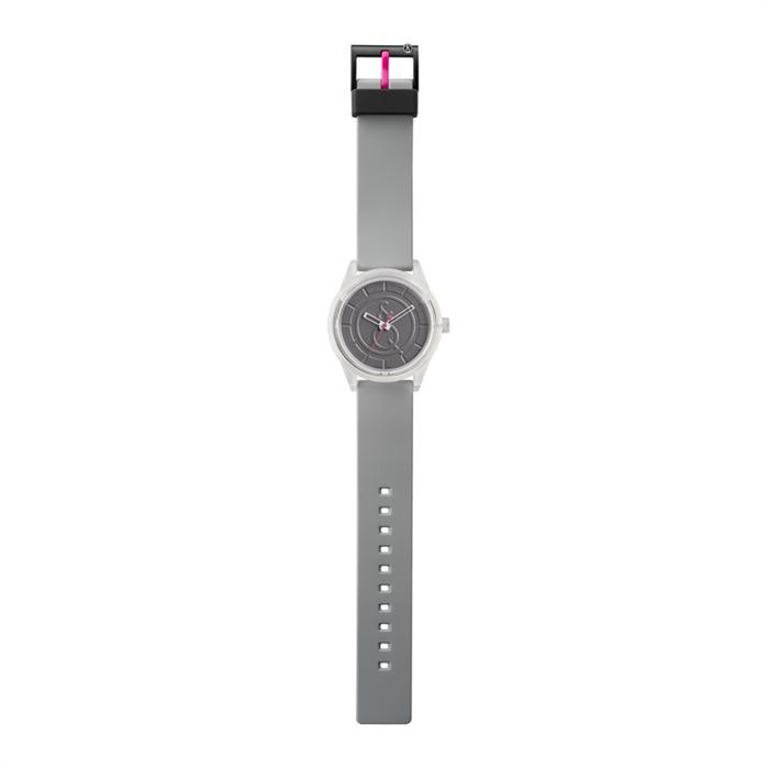 Smile Solar Armbanduhr unisex in grau