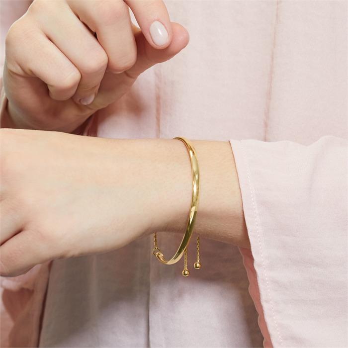 Armspange vergoldetem Silber mit Gravurmöglichkeit