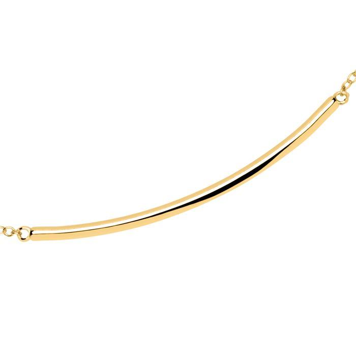 Armband Sterlingsilber IP-Gold