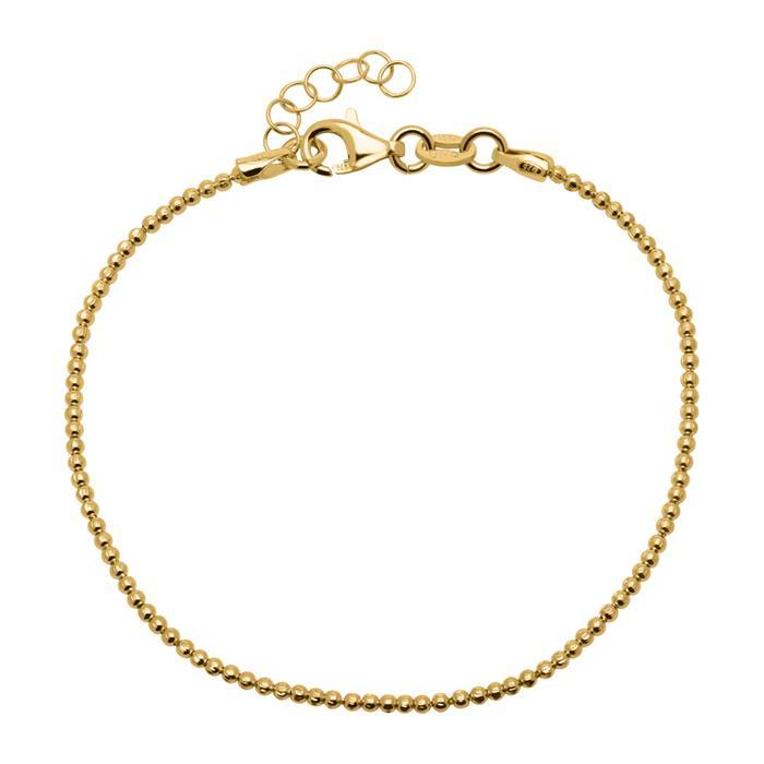Armband aus vergoldetem 925er Sterlingsilber