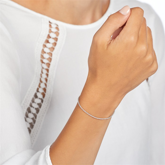 Kugelarmband aus 925er Sterlingsilber