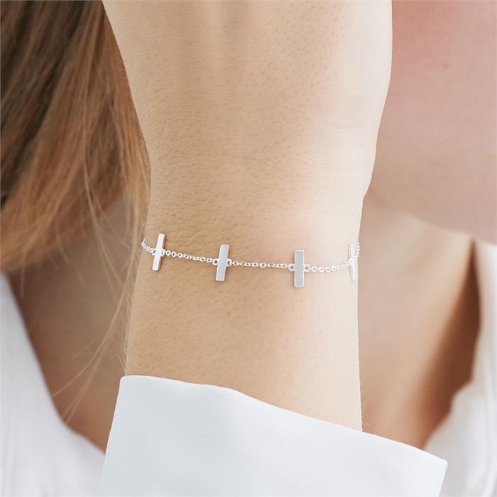 Bracelet For Ladies In Sterling Silver