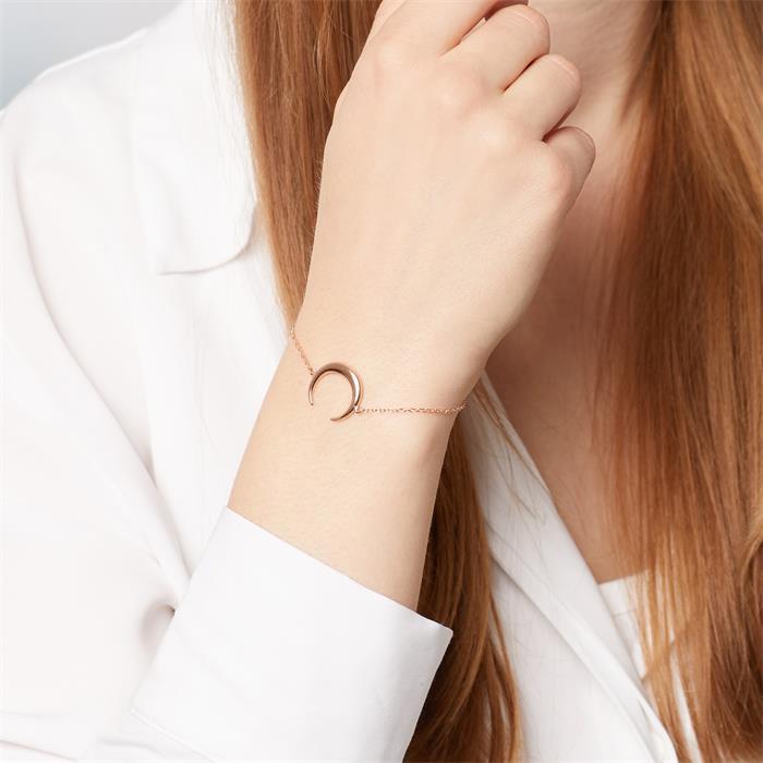 Armband aus tricolorem 925er Sterlingsilber