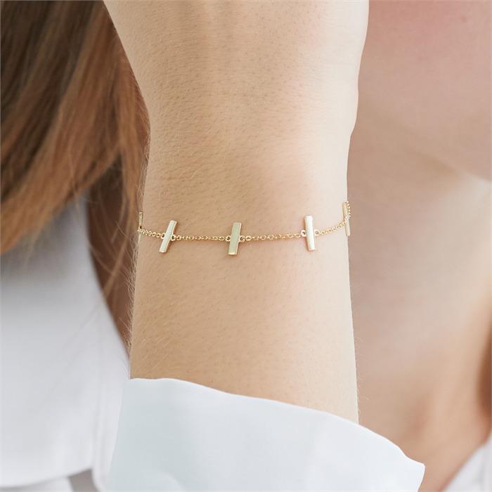 Armband aus vergoldetem Sterlingsilber