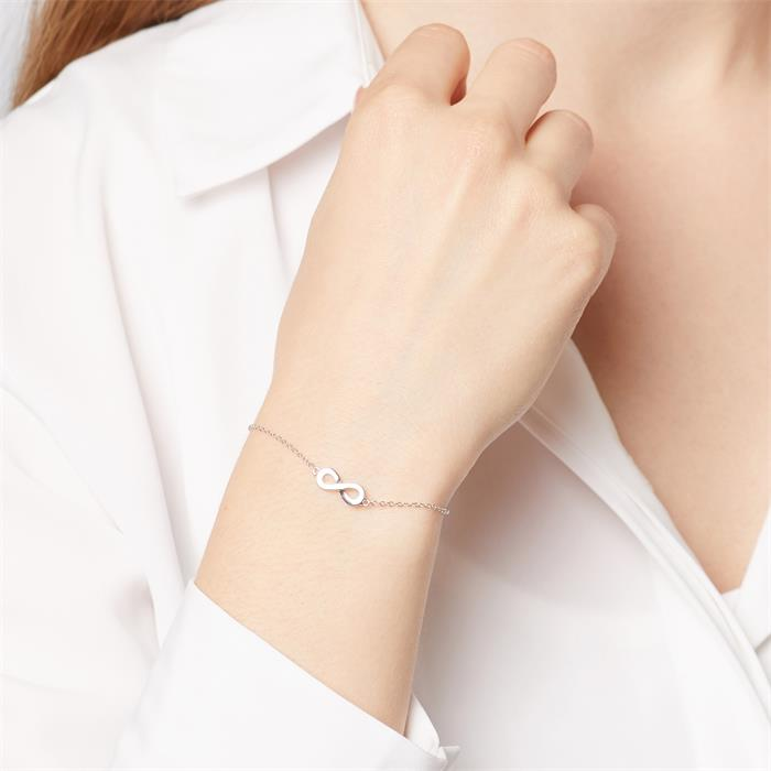 Armband Infinity aus Sterlingsilber