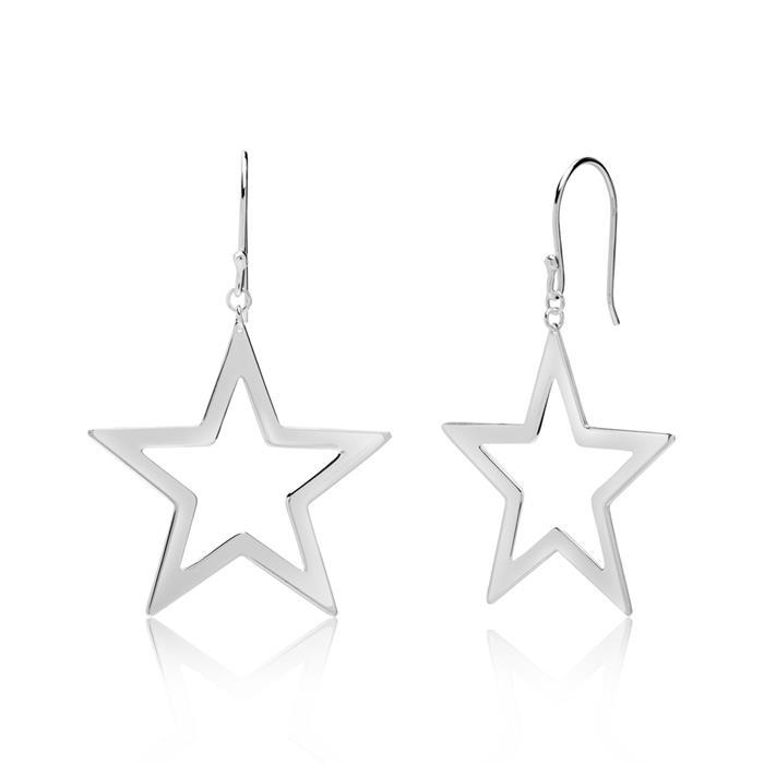 Ohrhänger Sterne aus 925er Silber