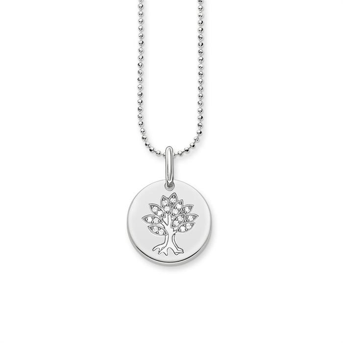 Kette Tree of Love 925er Silber Zirkonia