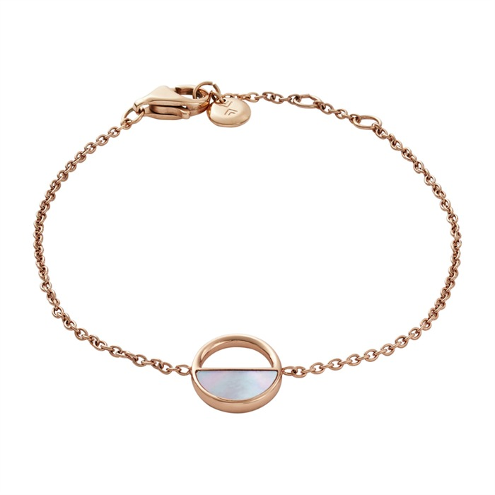 Armband Edelstahl rosévergoldet