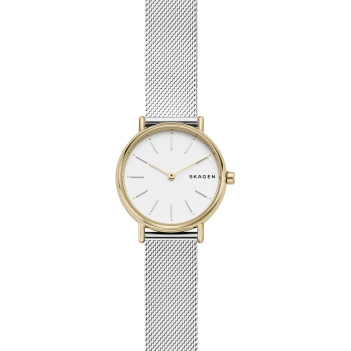 Uhr Signature für Damen mit Meshband
