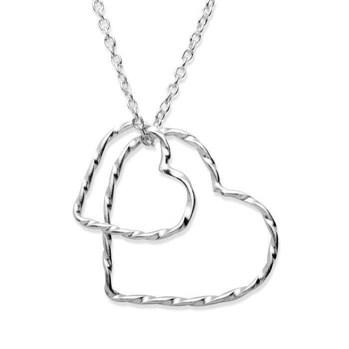 Silberkette 925 mit Herzanhänger