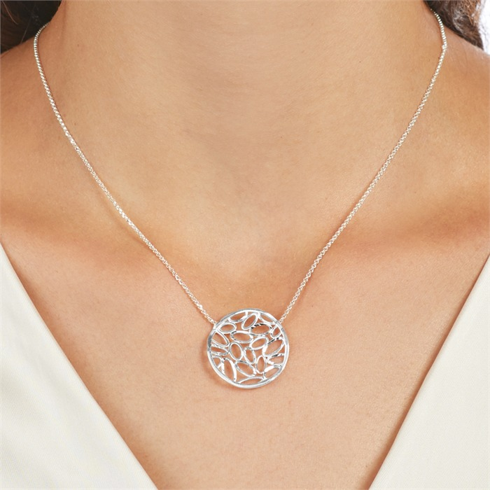 Halskette aus 925er Sterlingsilber