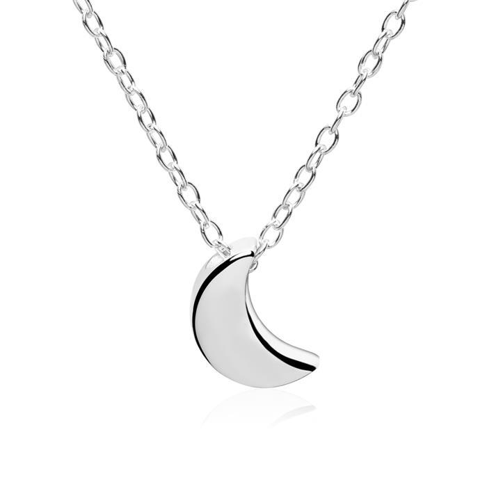 Kette Mondsichel aus Sterlingsilber