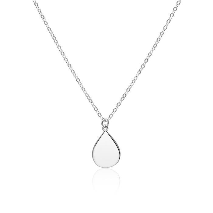 Halskette Tropfen für Damen aus Sterlingsilber
