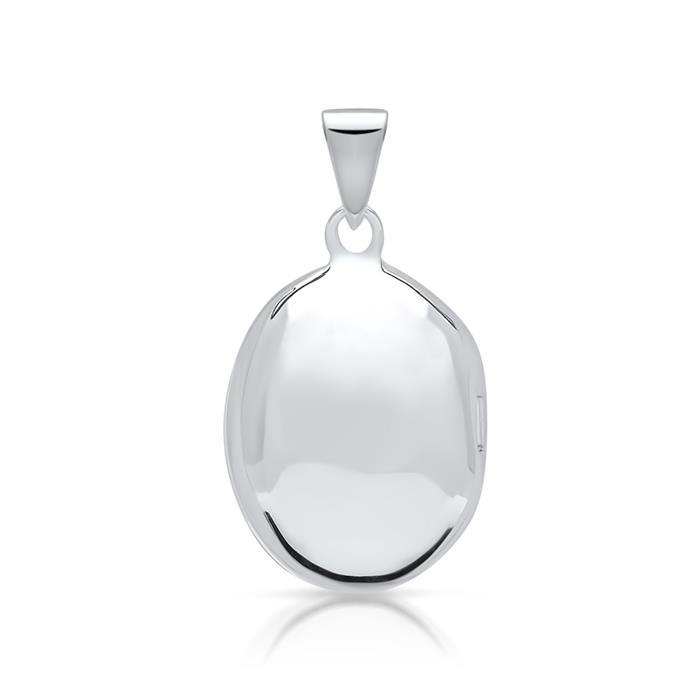 Modernes Medaillon aus 925 Sterling Silber
