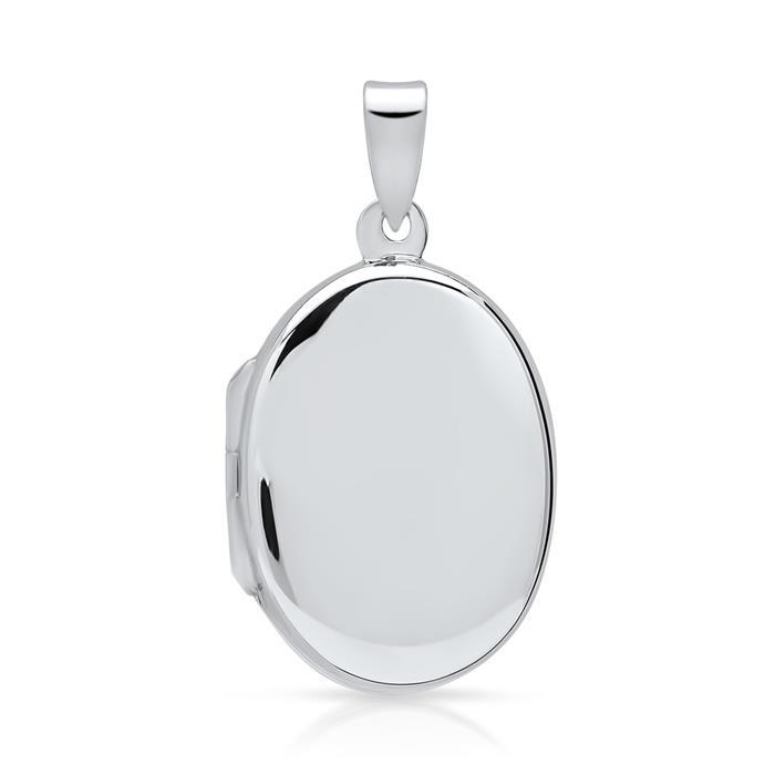 Modernes Medaillon 925 Sterling Silber