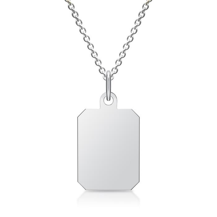 925 Silber Anhänger Gravur möglich