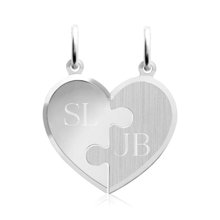 925 Silber Anhänger mit zwei Silberketten