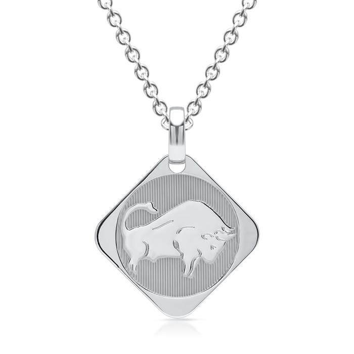 Silberkette Sternzeichen Stier