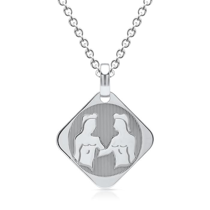 925 Silberanhänger Sternzeichen Zwillinge