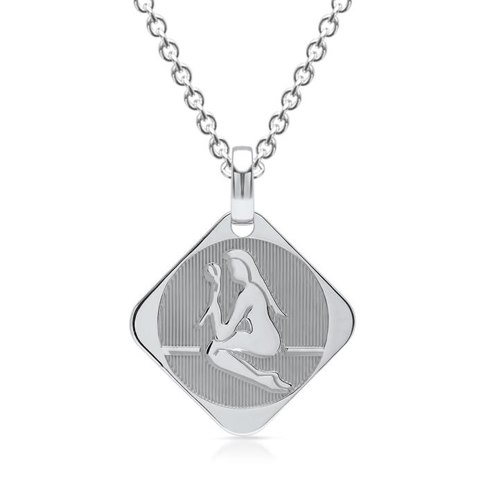 925 Silberanhänger Sternzeichen Jungfrau