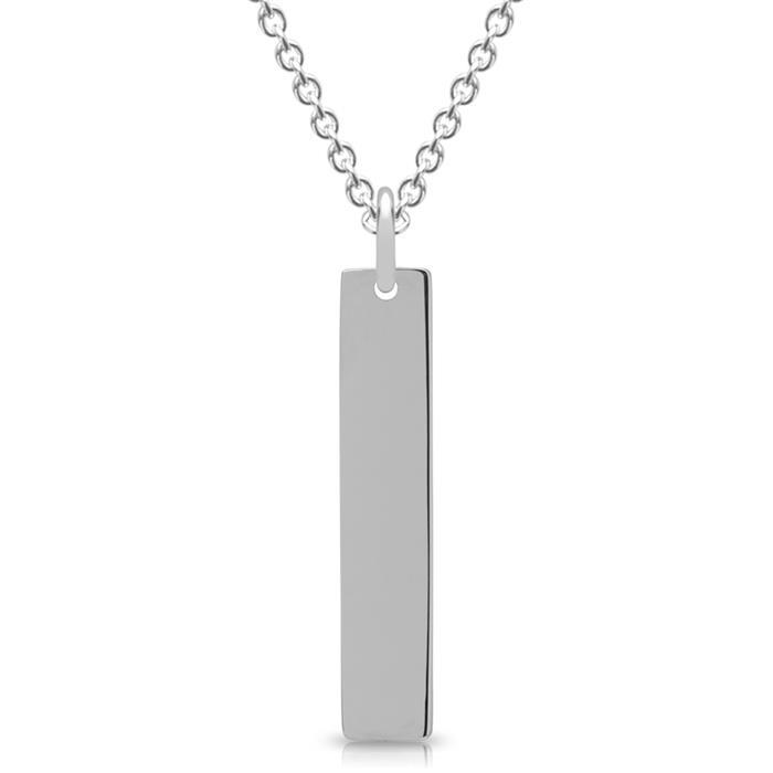 Länglicher Anhänger 925er Silber