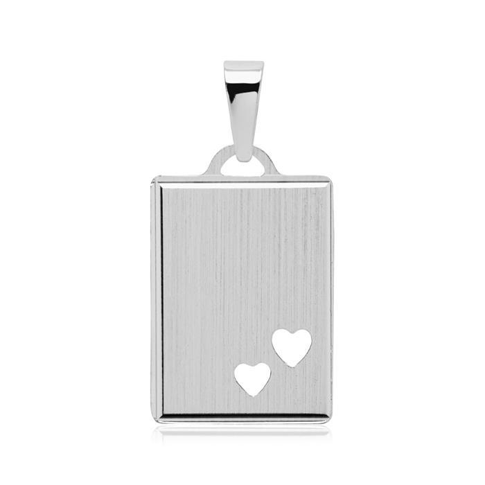 Kette mit gravierbarem Anhänger 925er Silber