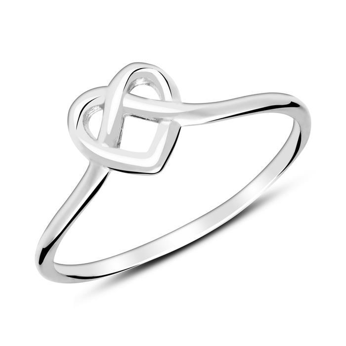 Ring Herz aus Sterlingsilber