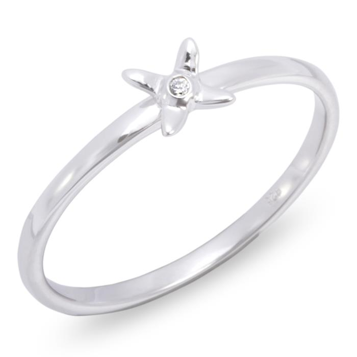 Stackring, Stapelring aus 925 Silber
