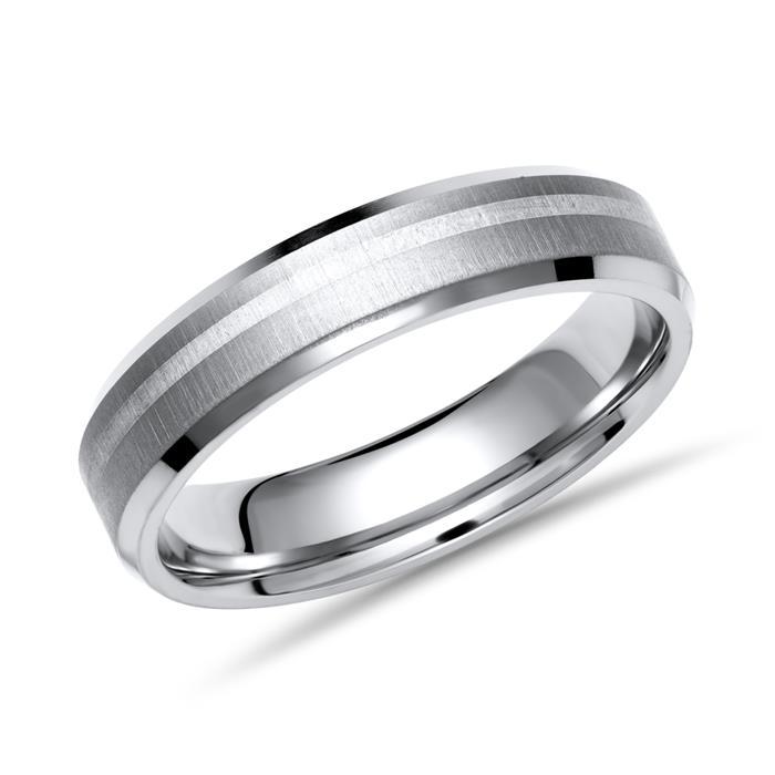Trauringe Titan Silber Eheringe Brillant