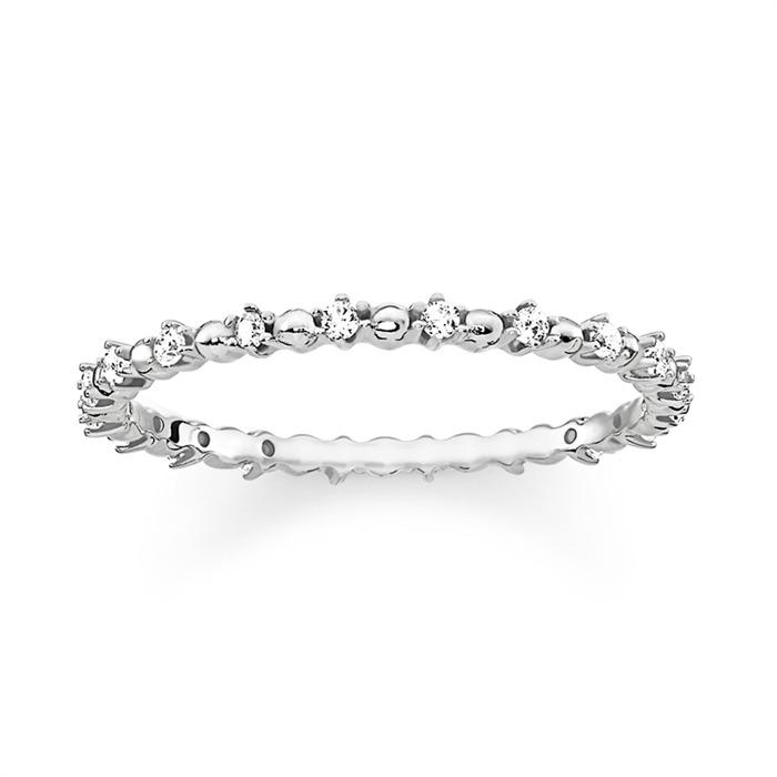Sterlingsilber Ring Zirkonia