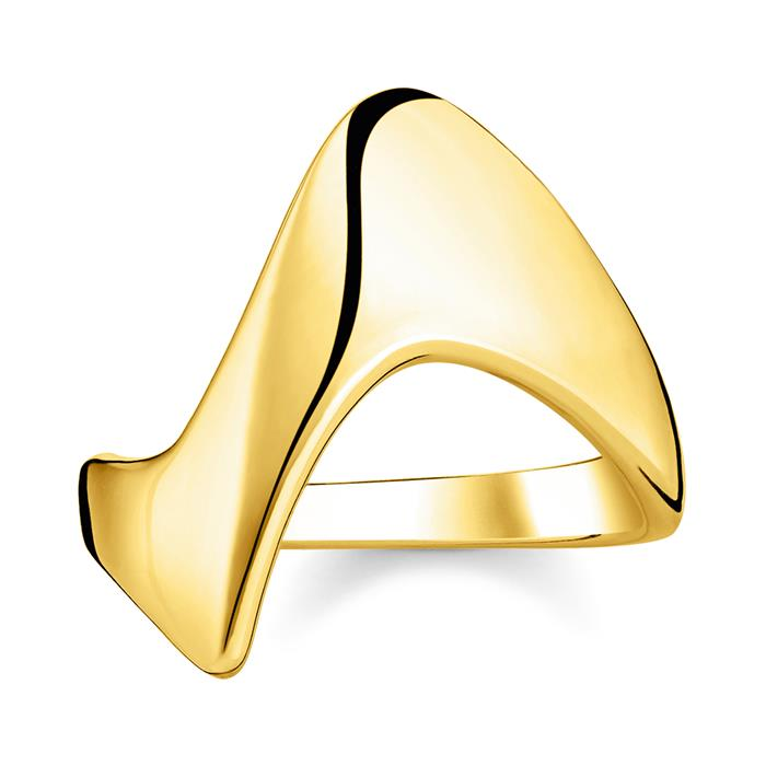 Vergoldeter Sterlingsilber Ring Heritage