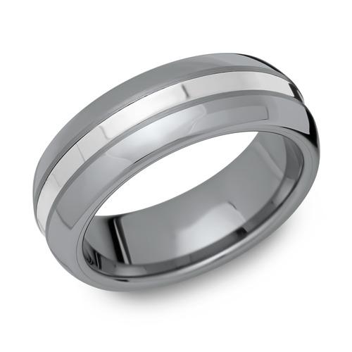 Trauringe Wolfram Silbereinlage
