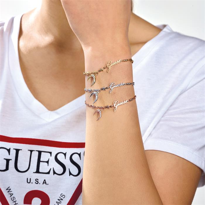 Moon Bracelet Get Lucky for Ladies Stainless Steel